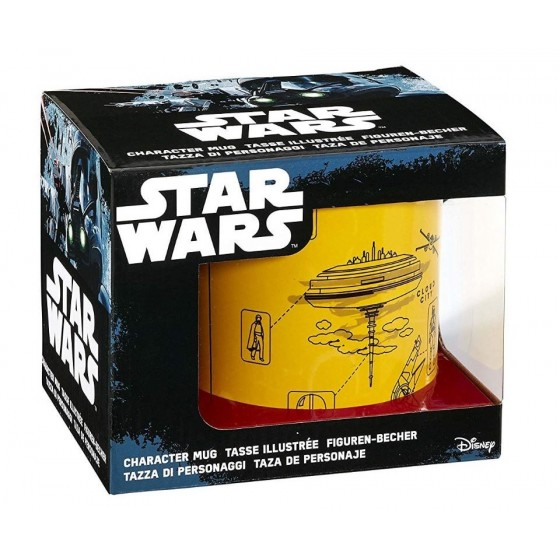 Funko Star Wars l'empire Contre-Attaque Blueprint Mug 567 Gram, Jaune