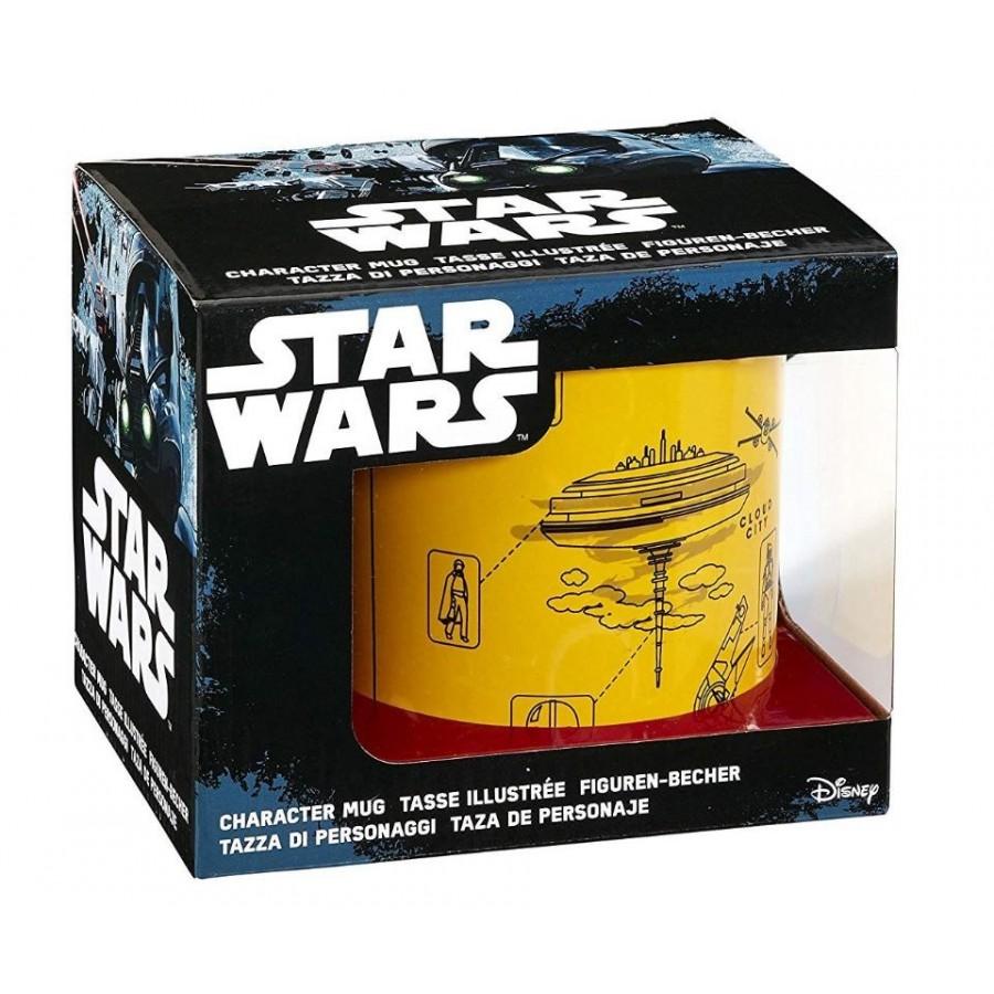 Funko Star Wars l'empire Contre-Attaque Blueprint Mug 567 Gram, Jaune