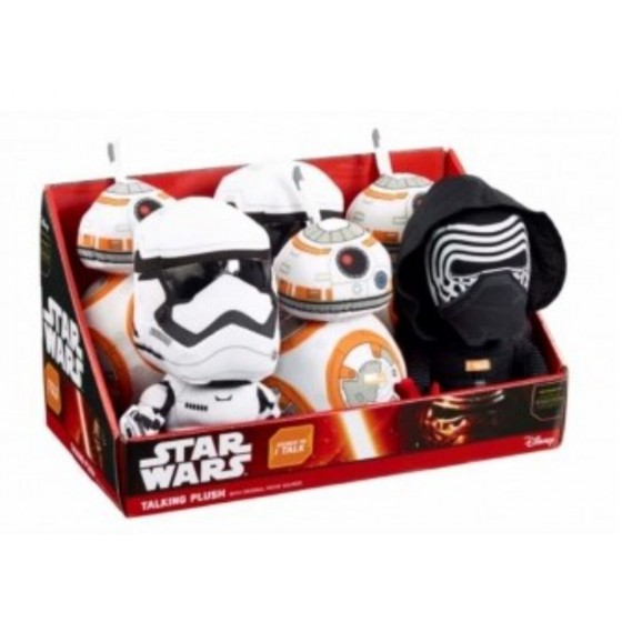 Funko 6 Peluches Star Wars Medium avec music Sound 3 model