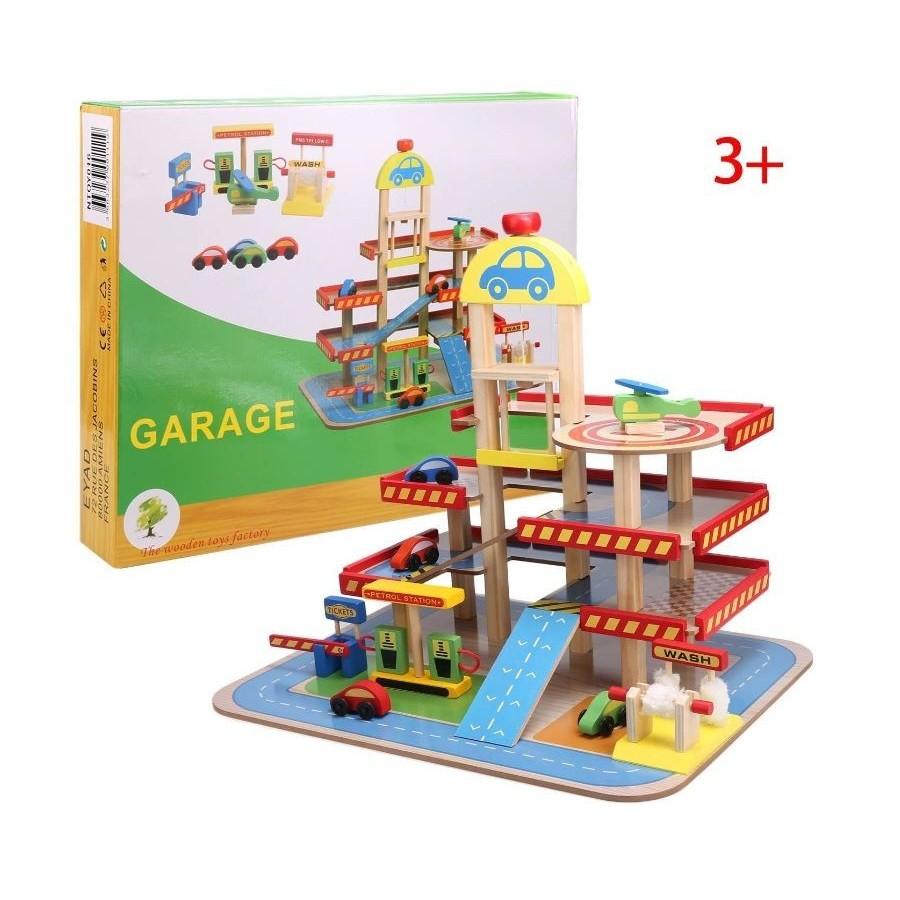 Garage en Bois 3 étages