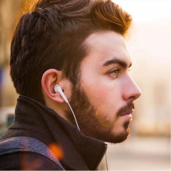 Écouteurs d'Origine Samsung EHS61ASFWE - Blanc