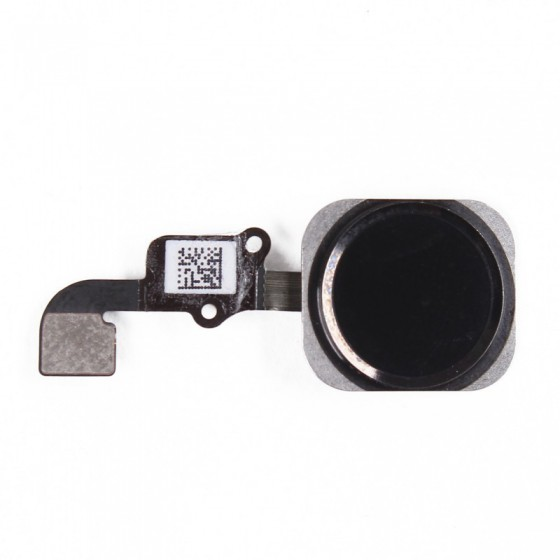 Bouton Home Noir Touch ID + Nappe complet - iPhone 6
