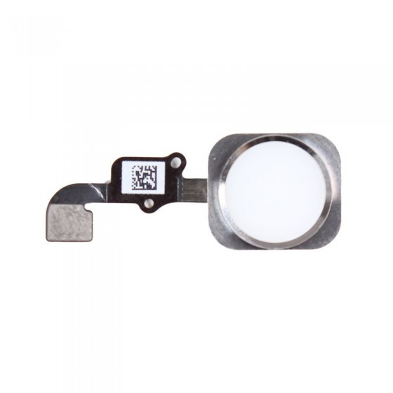 Bouton Home Blanc Touch ID + Nappe complet - iPhone 6