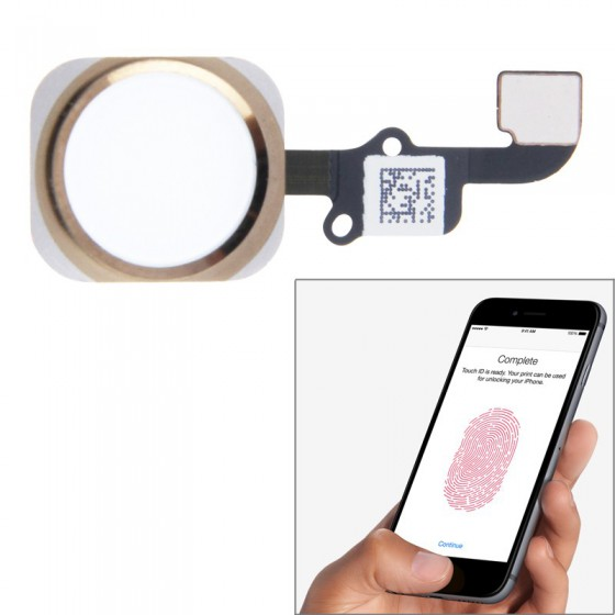 Bouton Home OR Touch ID + Nappe complet - iPhone 6